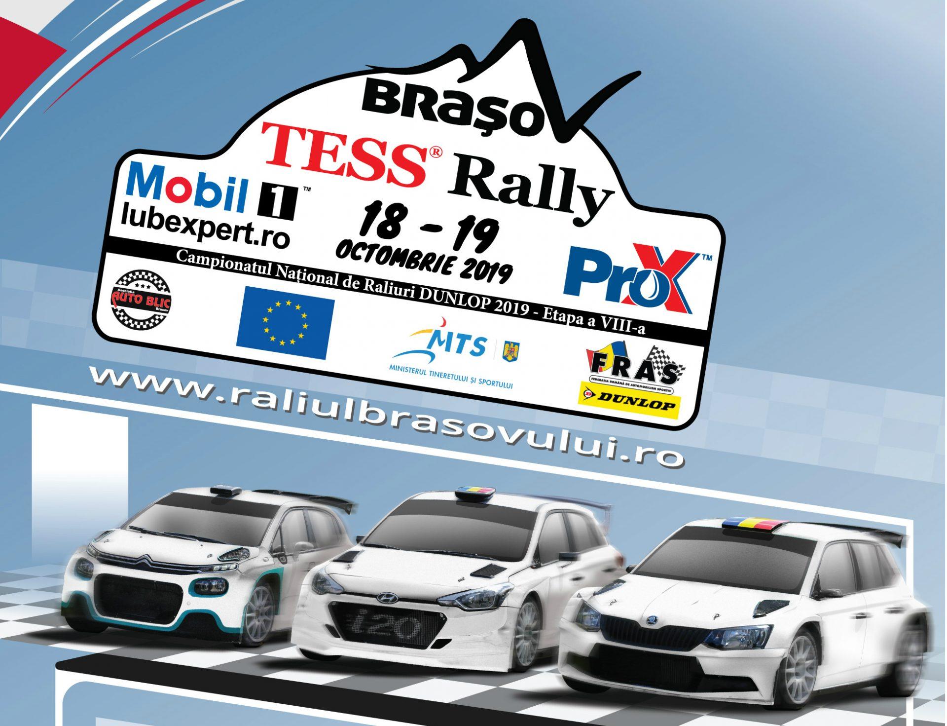 TESS Rally 48 – Finala se joaca la Brasov