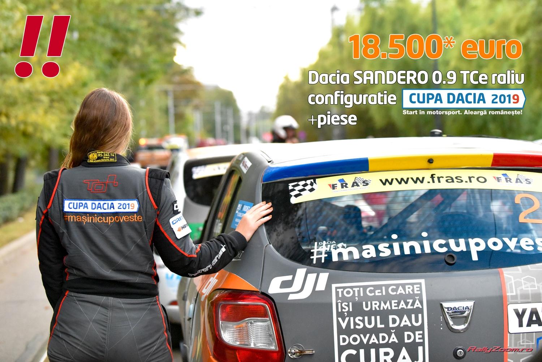 De vanzare: Dacia Sandero – 18.500€