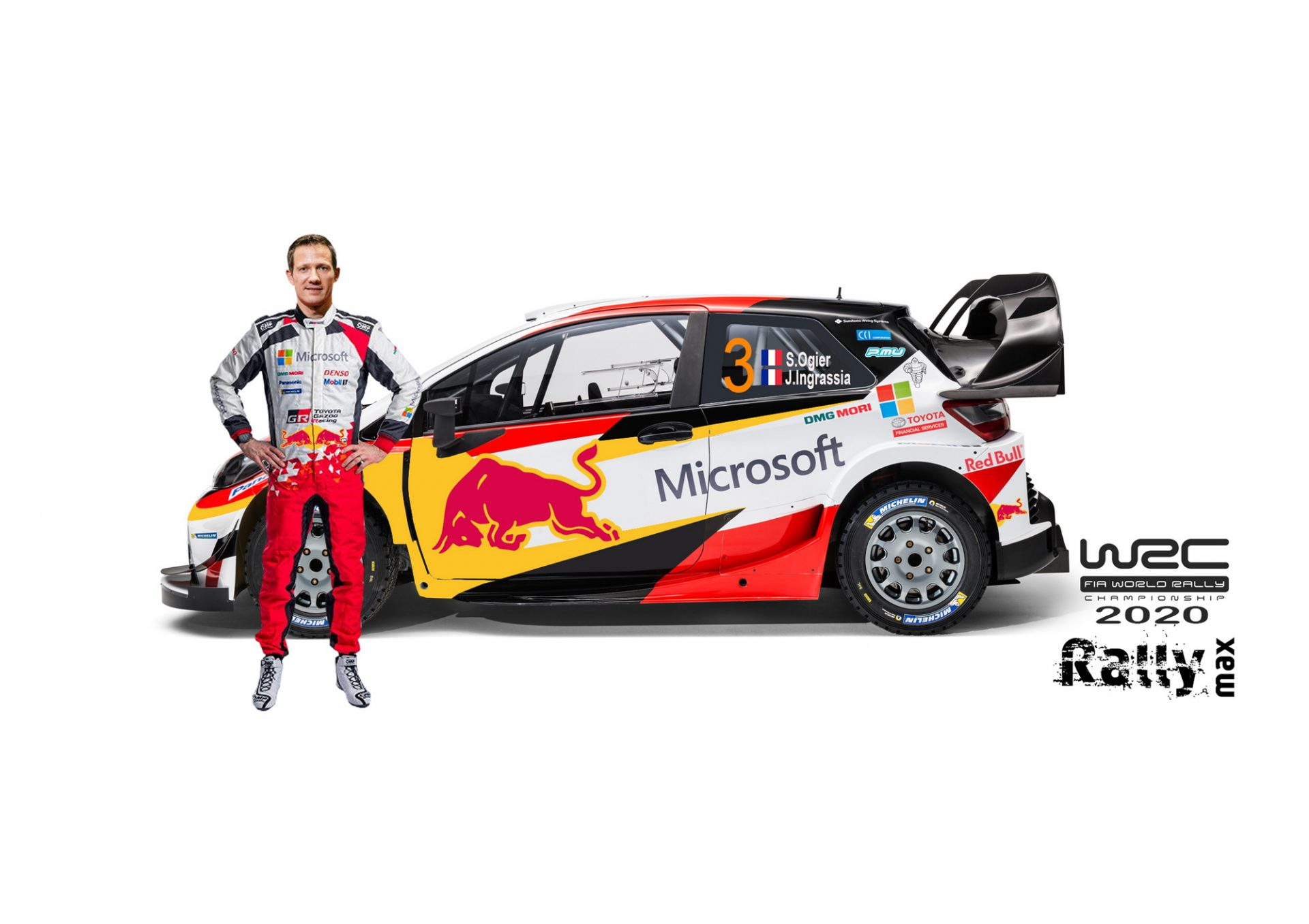 Sebastien Ogier, Elfyn Evans si Kalle Rovanpera – noii piloti Toyota Gazoo Racing