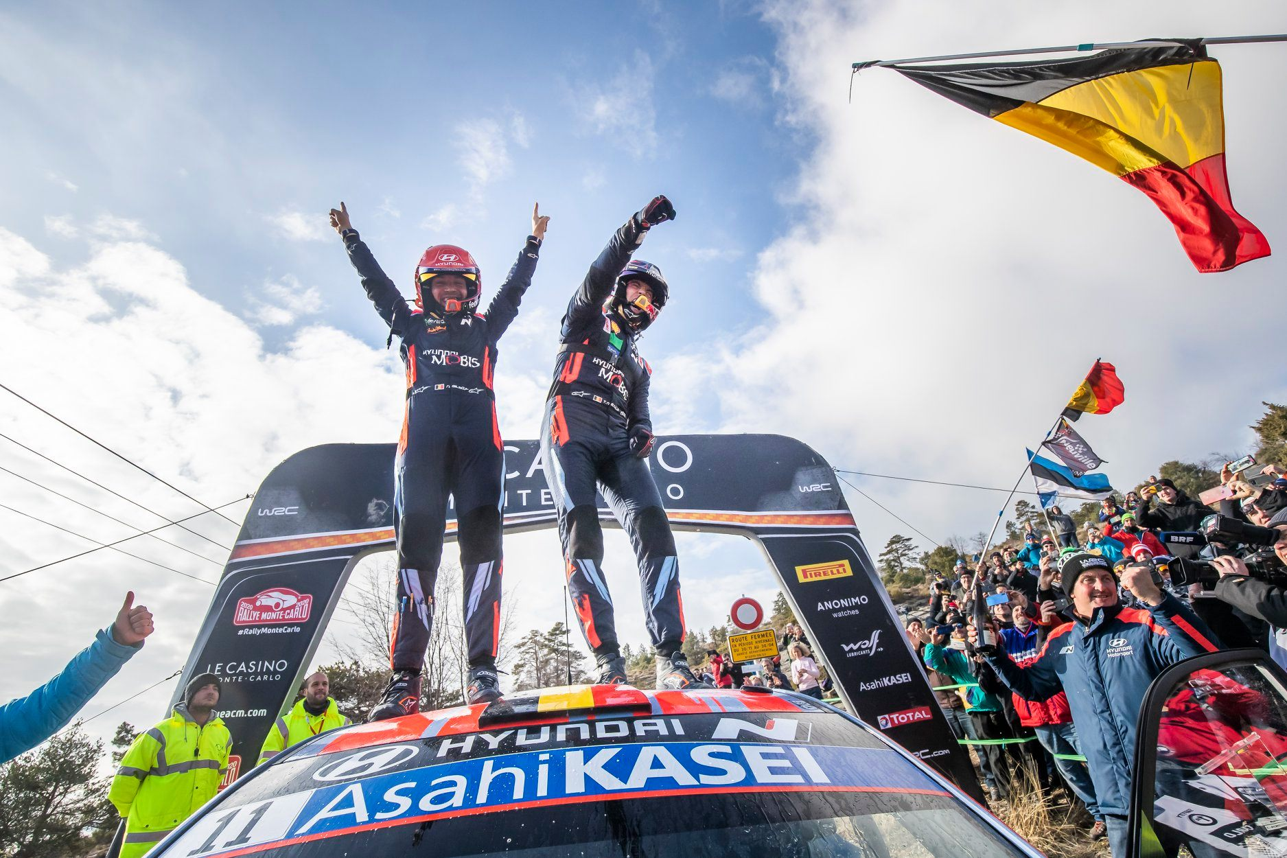 Thierry Neuville obtine prima victorie in Rallye Monte-Carlo