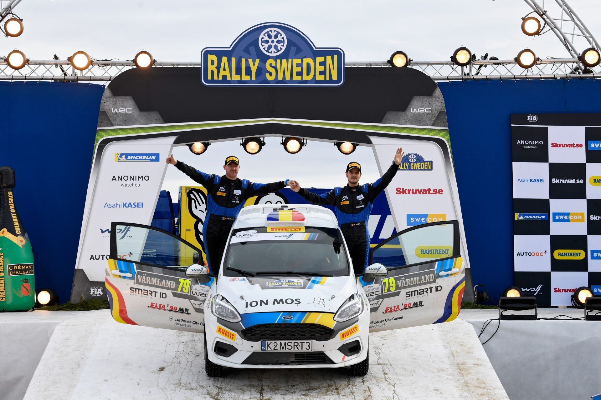 Raul Badiu si Gabriel Lazar – un nou start in Junior WRC