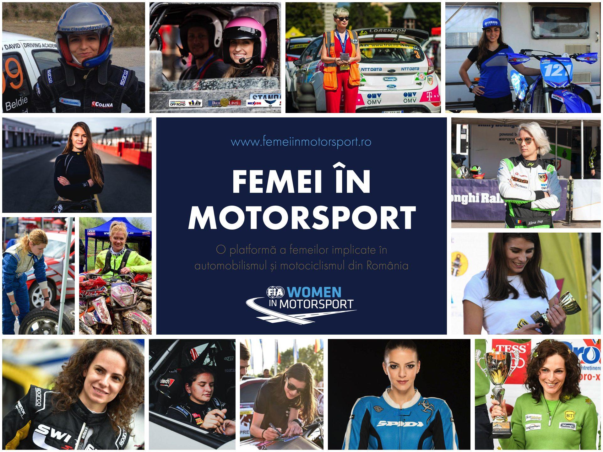Platforma Femei in Motorsport a implinit 1 an