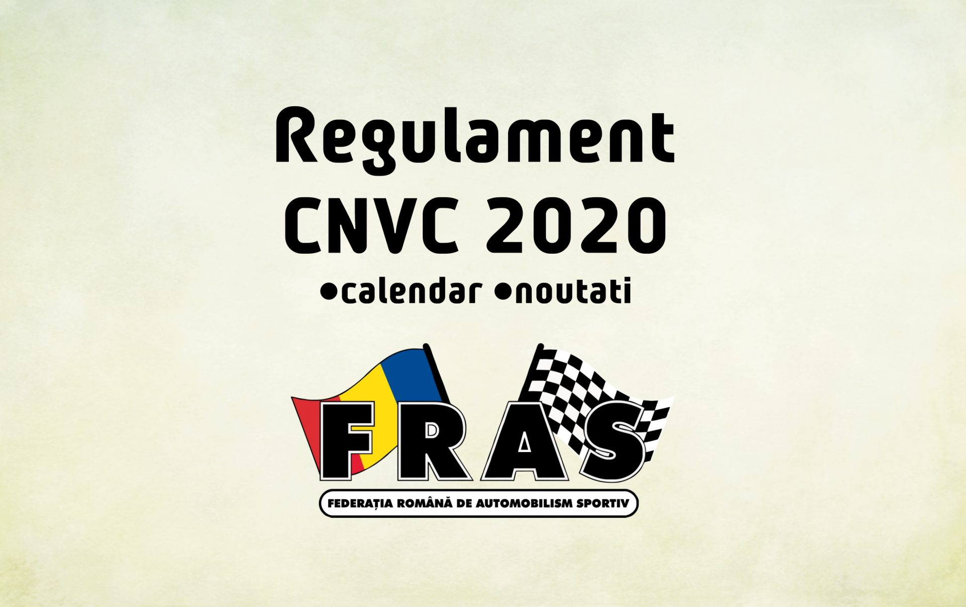 Regulament pentru CNVC 2020 – Schimbari si calendar