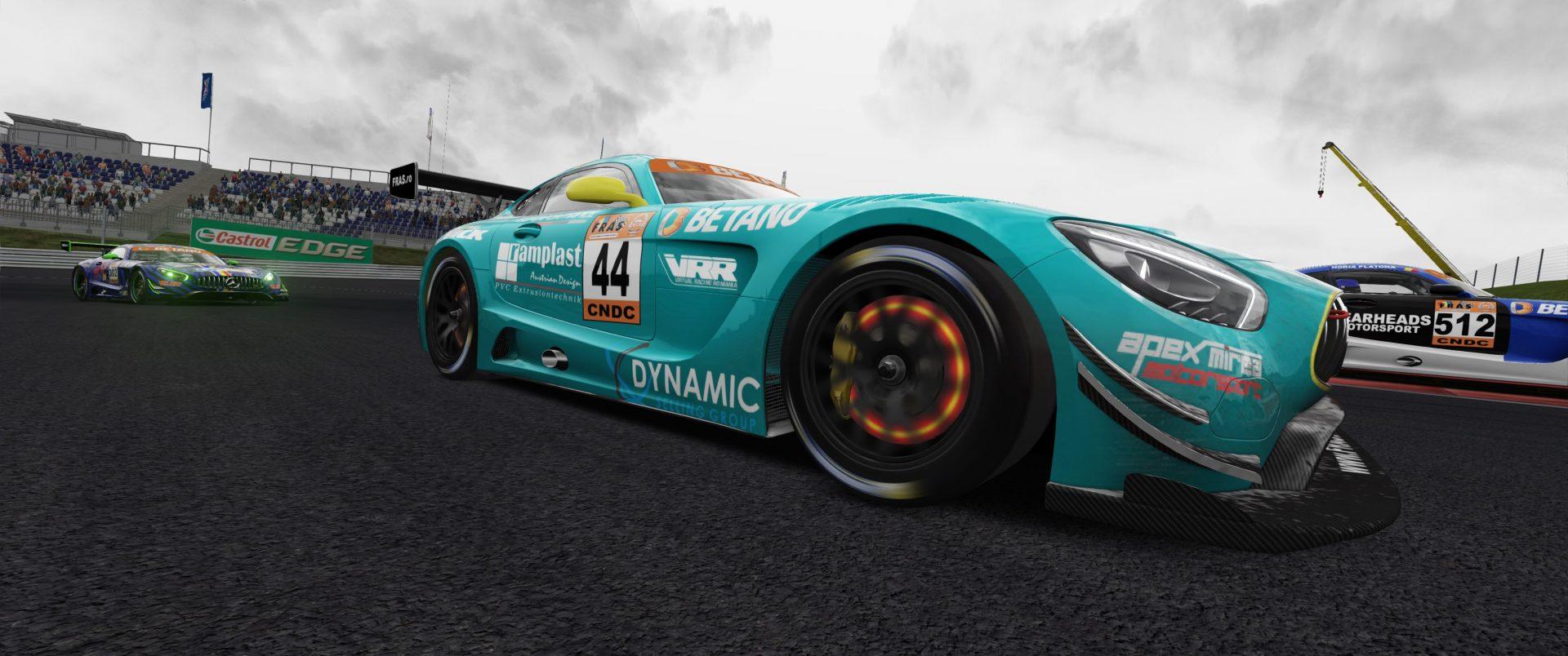 Seceta de puncte in Austria pentru Virtual Racing Romania