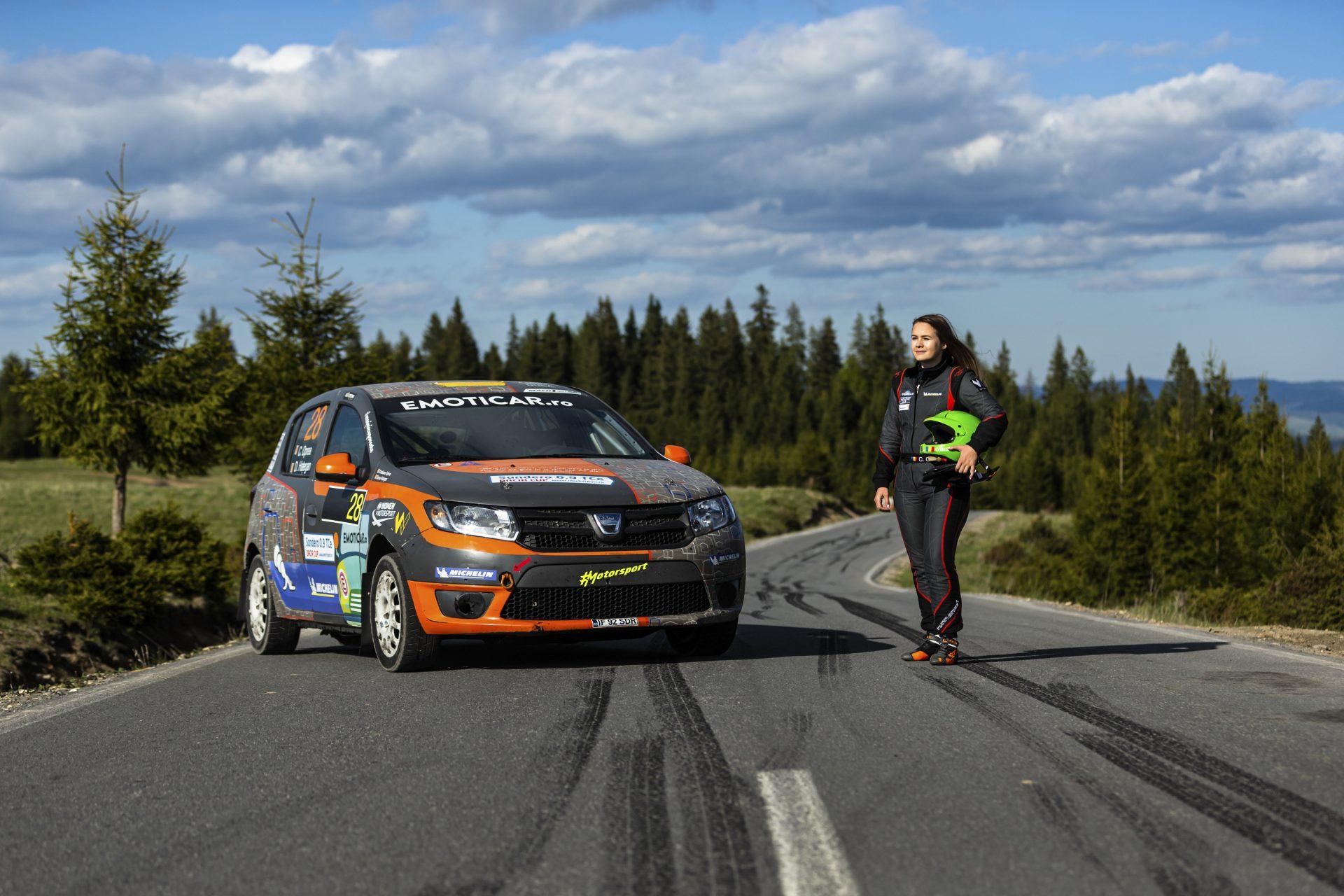 """Cristiana Oprea: """"Aveam în plan să trec la Peugeot 208 R2"""""""