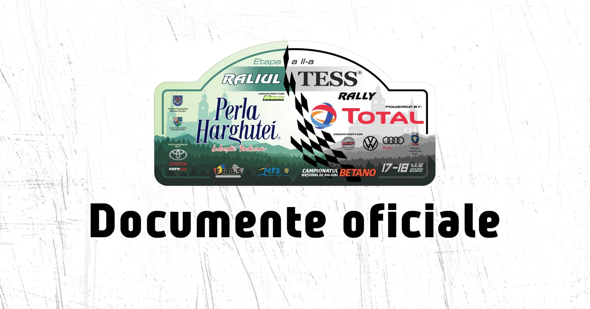 Documente oficiale – Raliul Perla Harghitei Tess powered by Total 2020