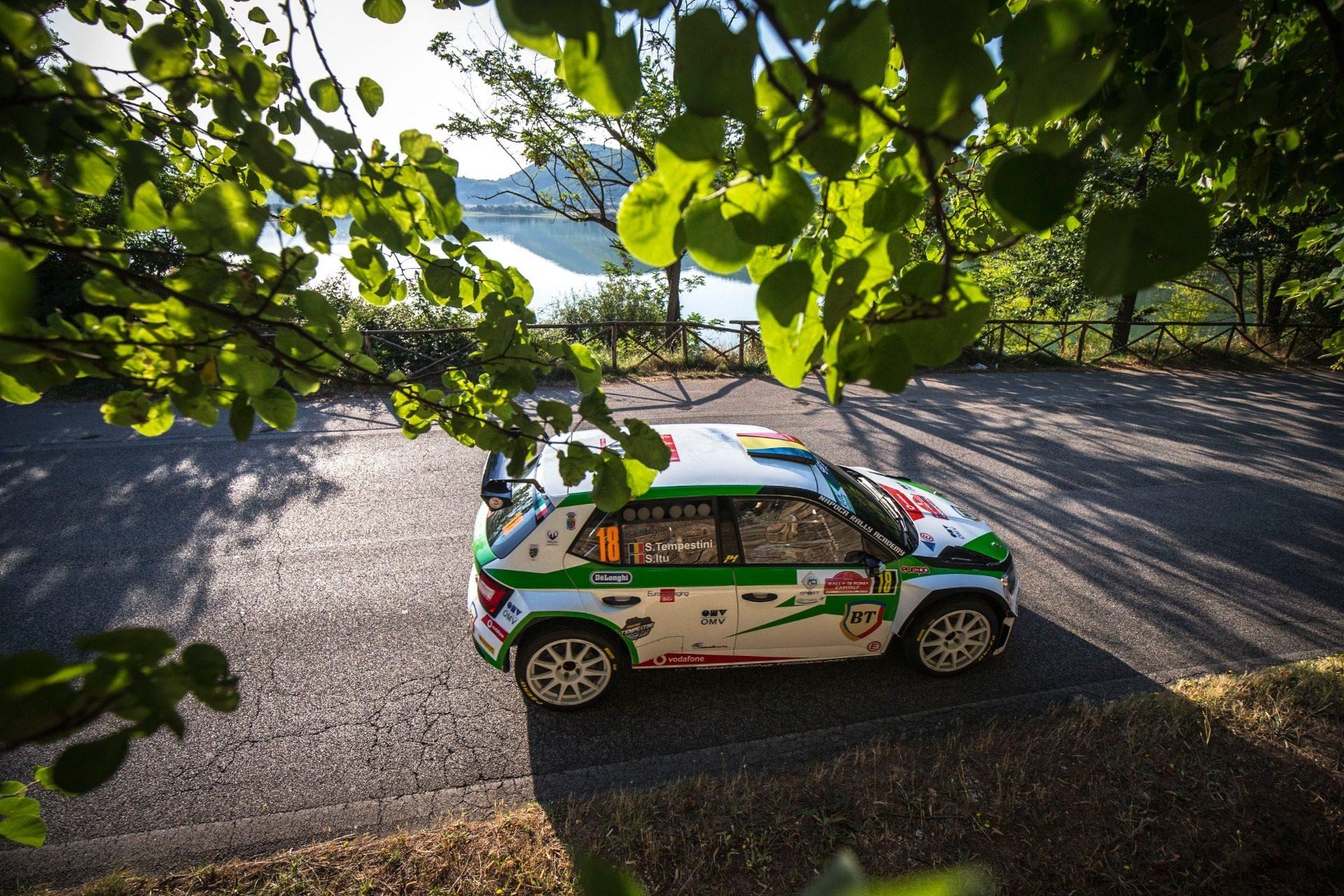 Simone Tempestini și Sergiu Itu încheie pe cinci prima etapă ERC 2020