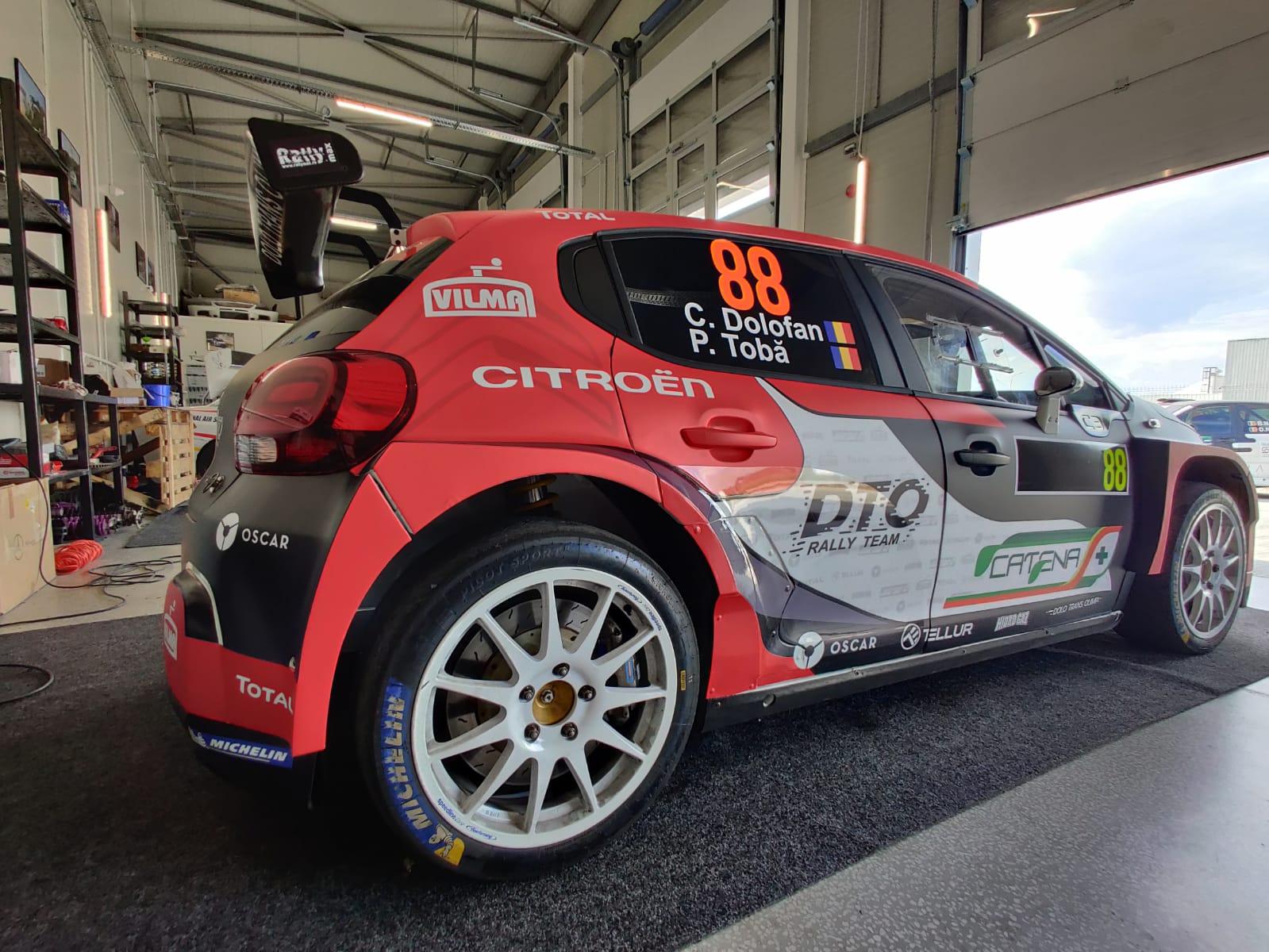 Noutăți pentru DTO Rally Team la Raliul Perla Harghitei Tess 2020