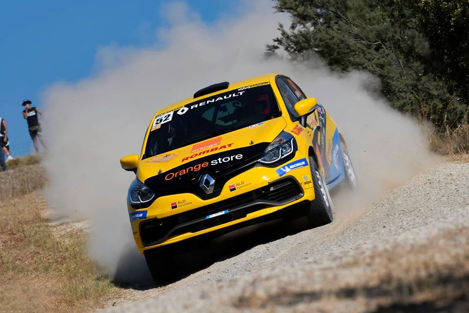 Probleme tehnice pentru Alex Filip în prima zi a Rally Città di Arezzo 2020