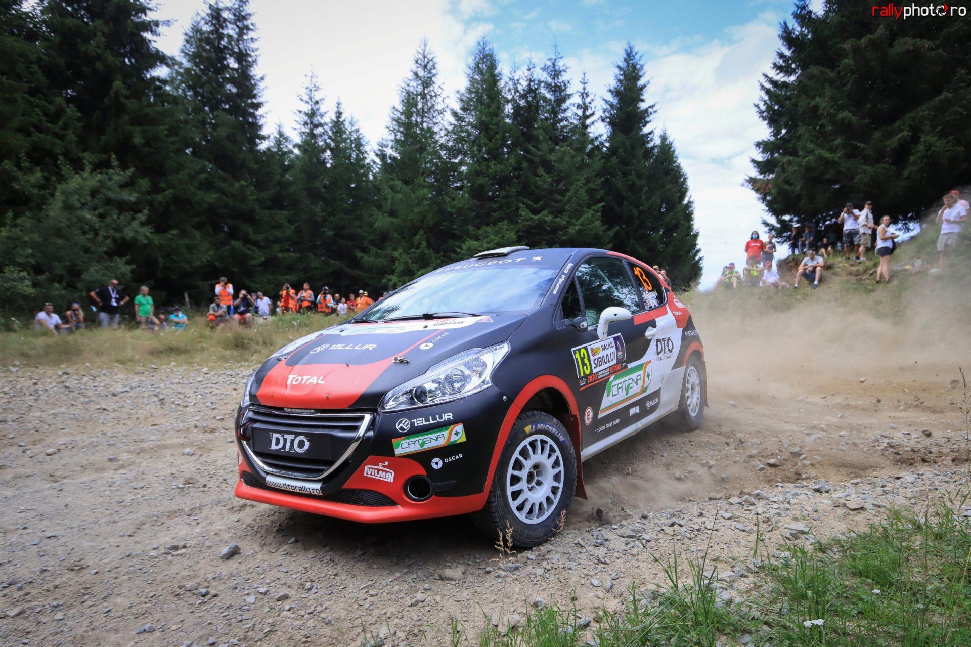 Podium pentru DTO Rally Team la revenirea Sibiului pe macadam