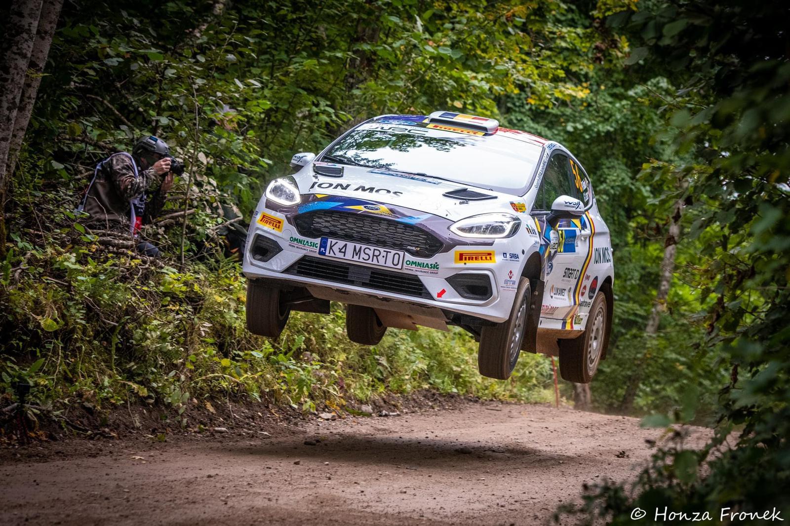Raul Badiu și Gabriel Lazăr revin în Junior WRC la Raliul Estoniei