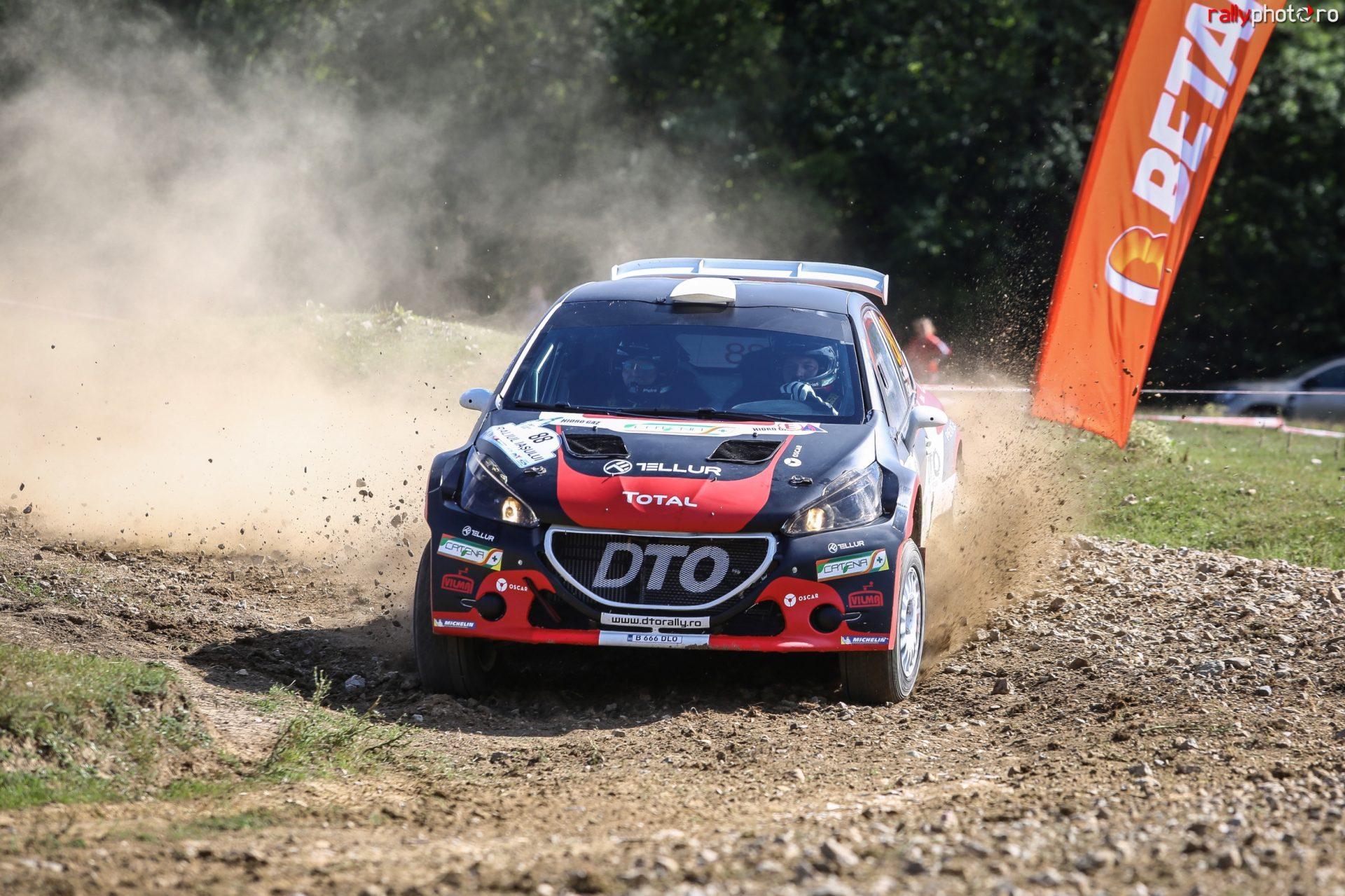 DTO Rally Team se menține pe podium după Raliul Iașului