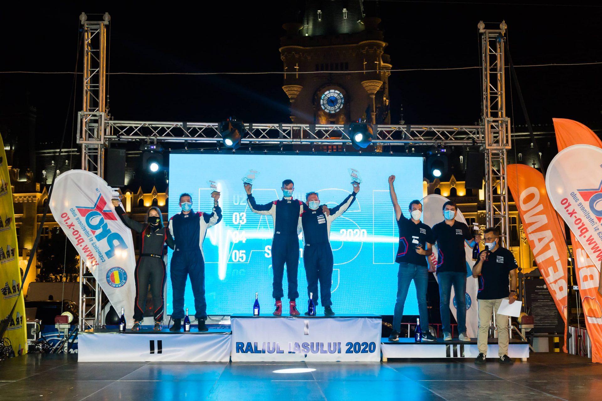 Campionii en titre la Cupa Dacia câștigă Raliul Iașului