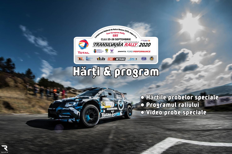 Hărți și program Transilvania Rally 2020
