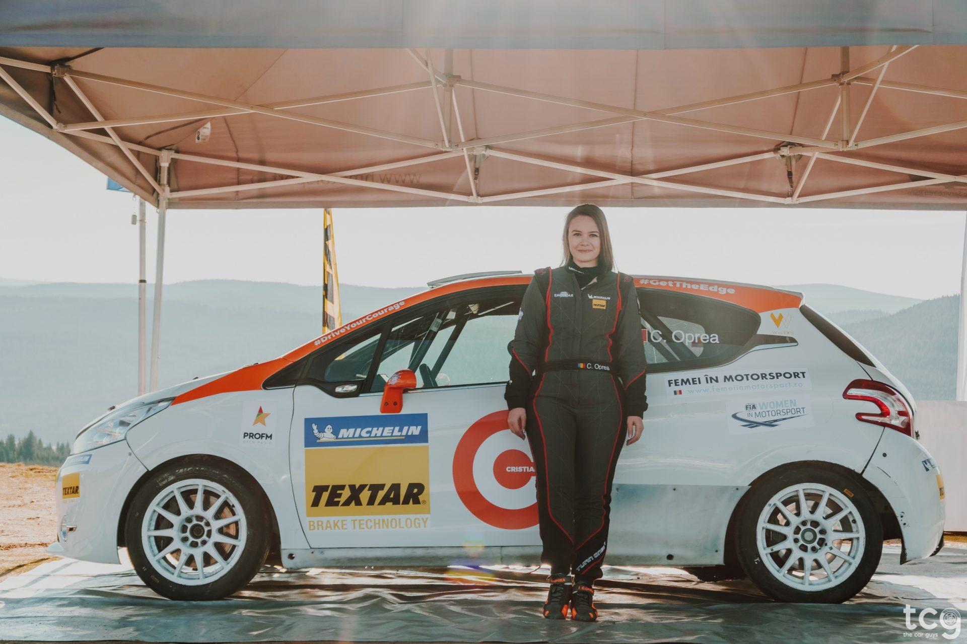 Peugeot 208 R2 – un nou capitol pentru Cristiana Oprea