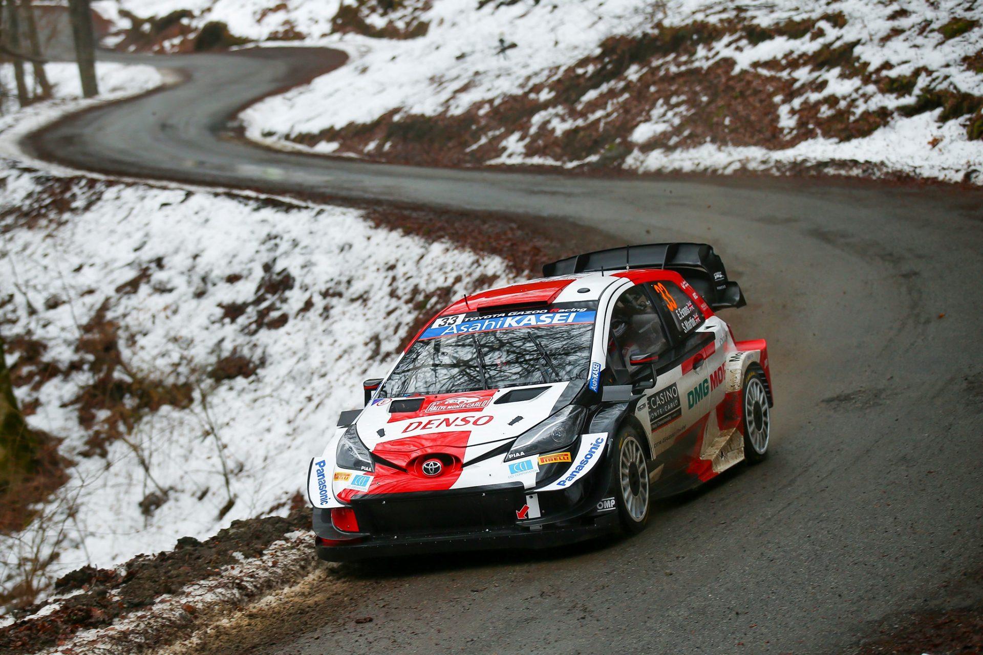 Schimbări succesive de lider în Rallye Monte-Carlo 2021