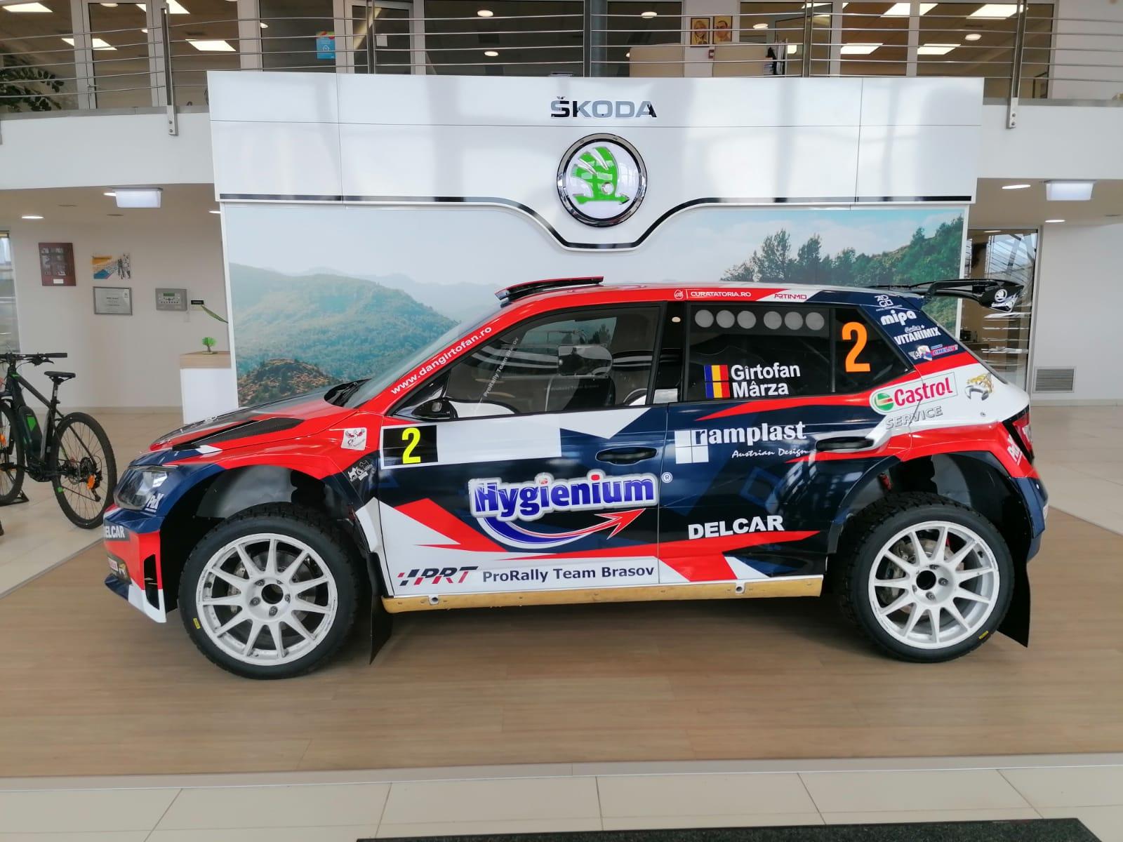 Premieră în Campionatul Național de Raliuri: Hygienium susține echipa ProRally Team Brașov