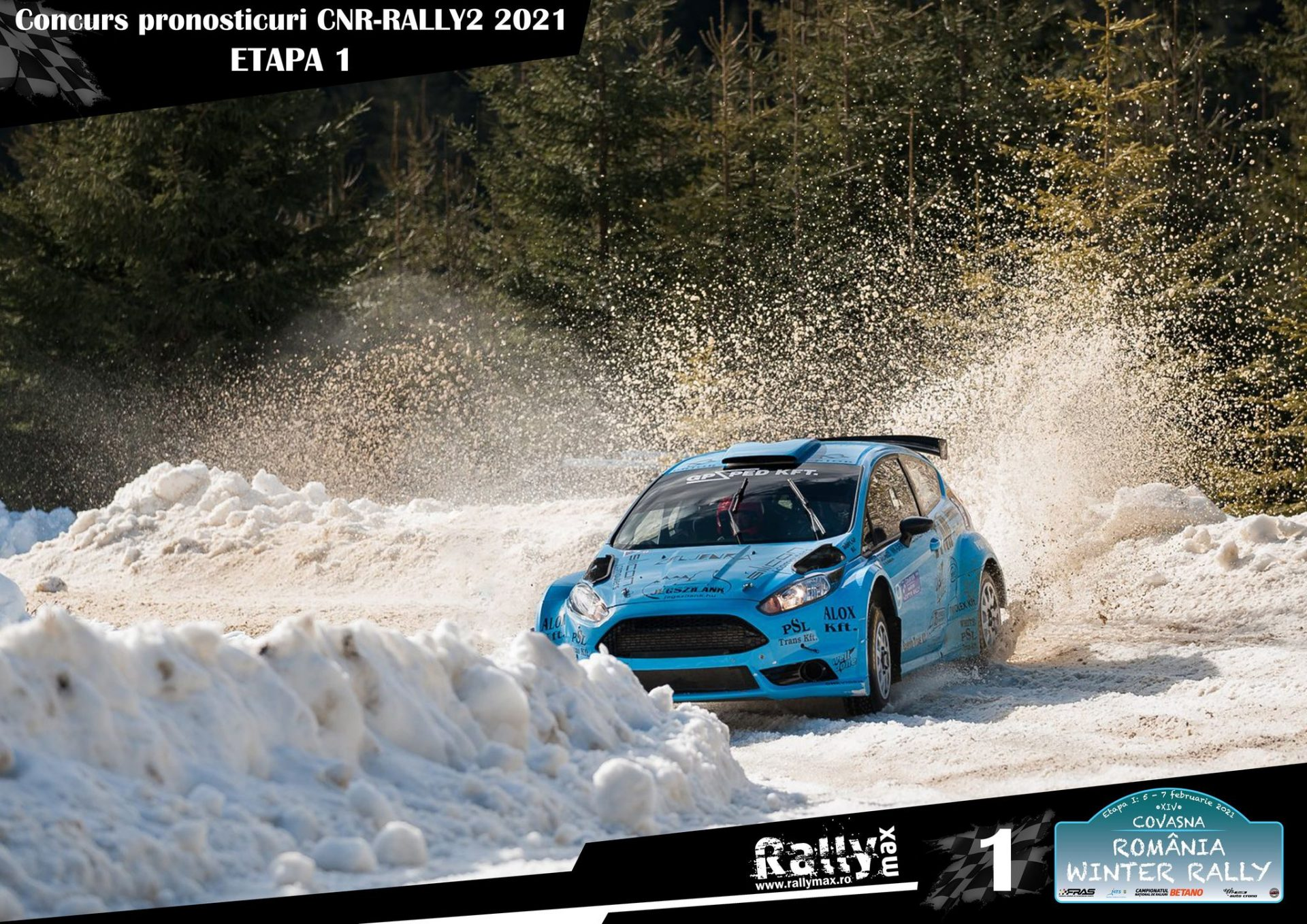 Start în Campionatul de Pronosticuri CNR & Rally2 2021!