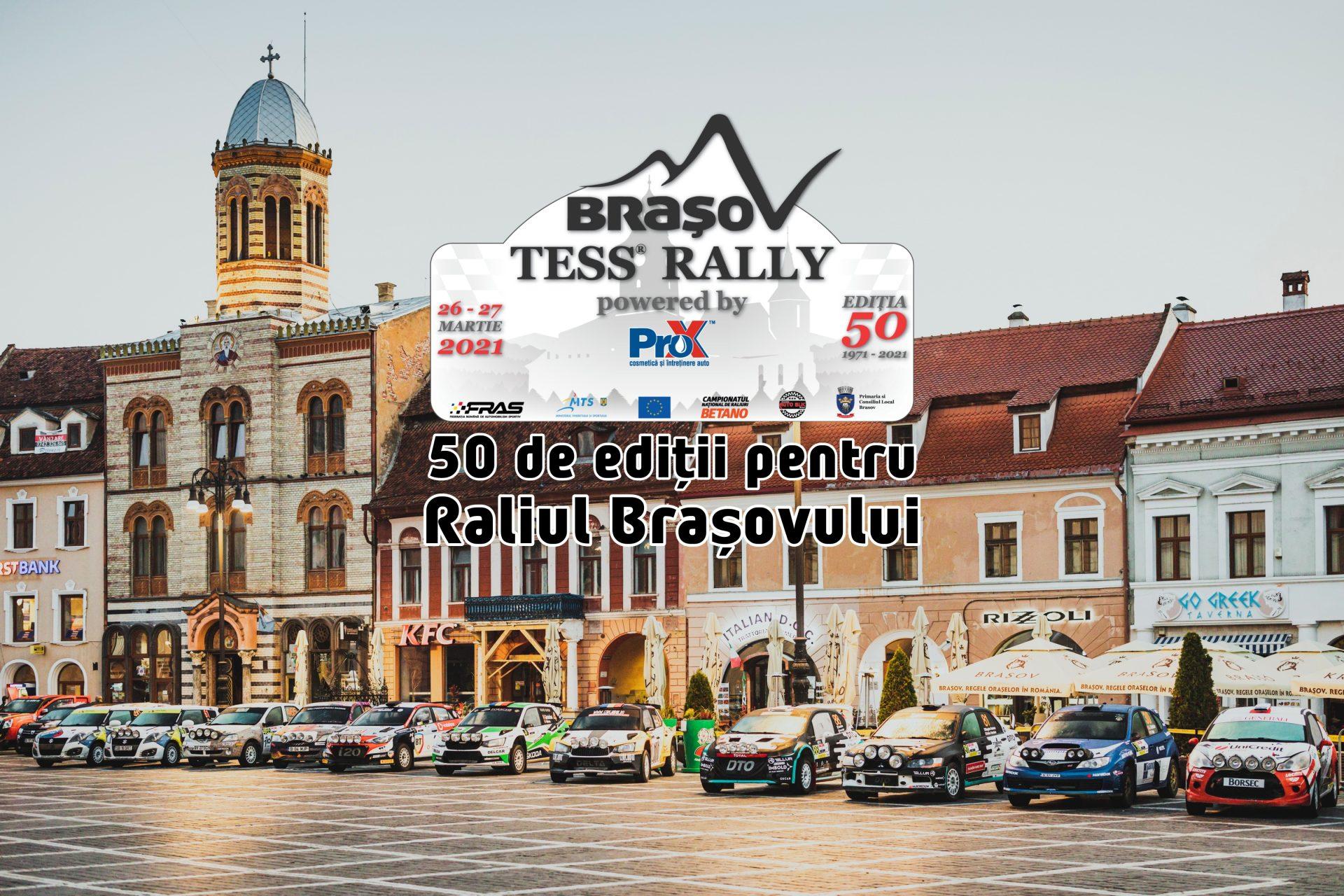 Raliul Brașovului sărbătorește 50 de ani cu o ediție specială