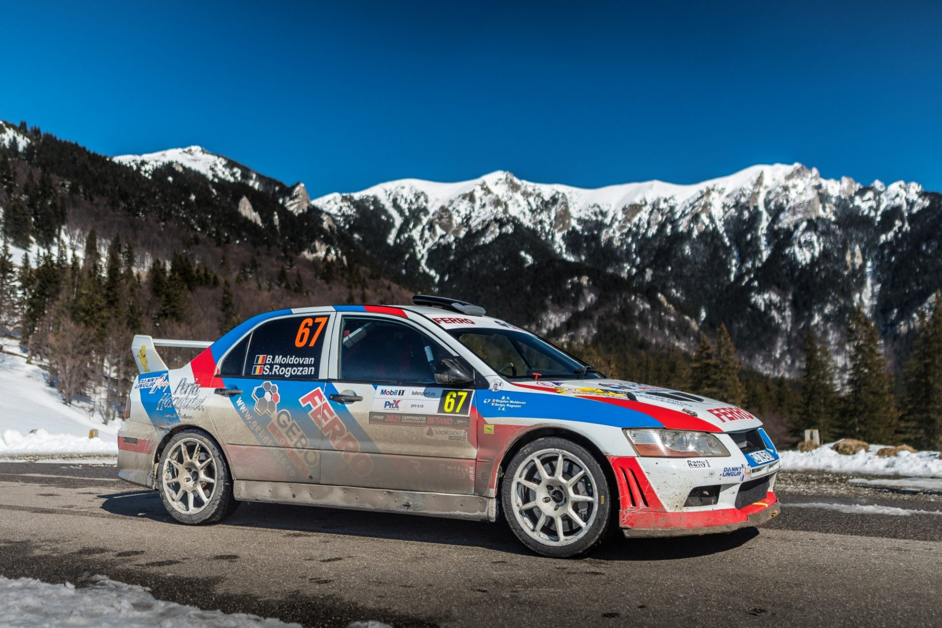 Tess Rally Brașov – un raliu de uitat pentru Bogdan Moldovan și Sergiu Rogozan