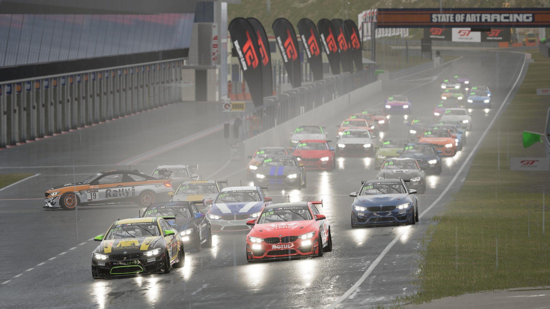 Racing League Romania BMW GT Challenge: Ploaia readuce Walk Racing în top la Zandvoort