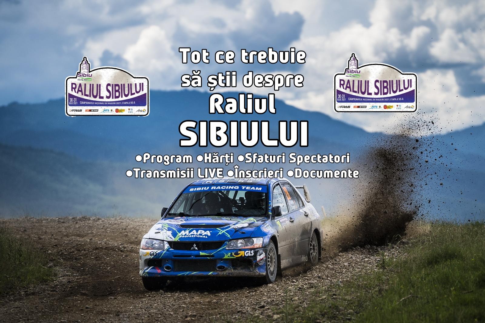 Tot ce trebuie să știi despre Raliul Sibiului 2021