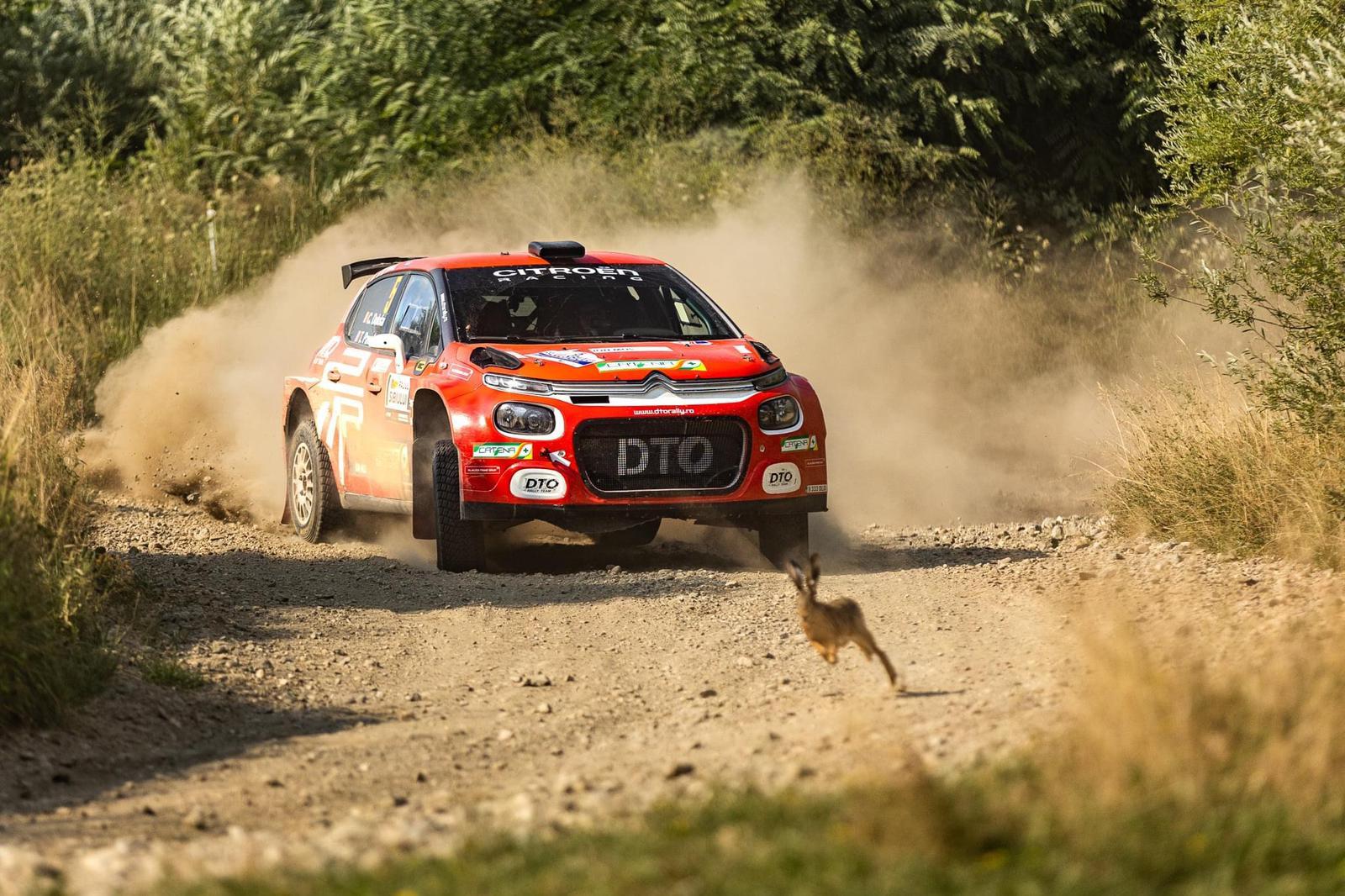 DTO Rally Team a învins macadamul dur al Raliului Sibiului