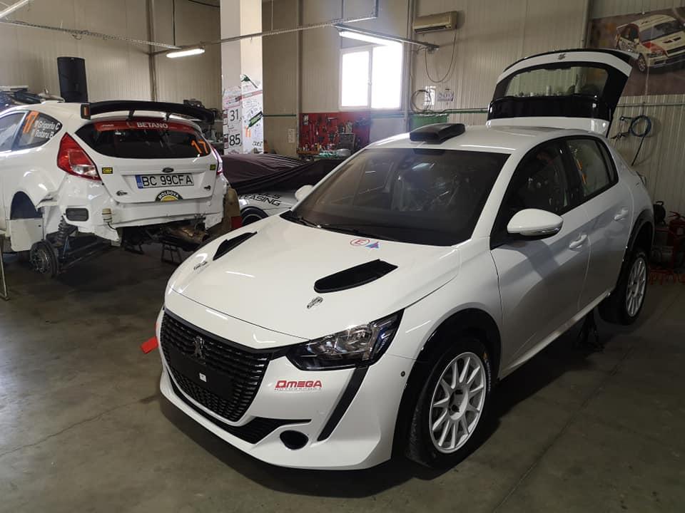 Jean Tatu Jr va pilota un Peugeot 208 Rally4 pregătit de Omega Motorsport