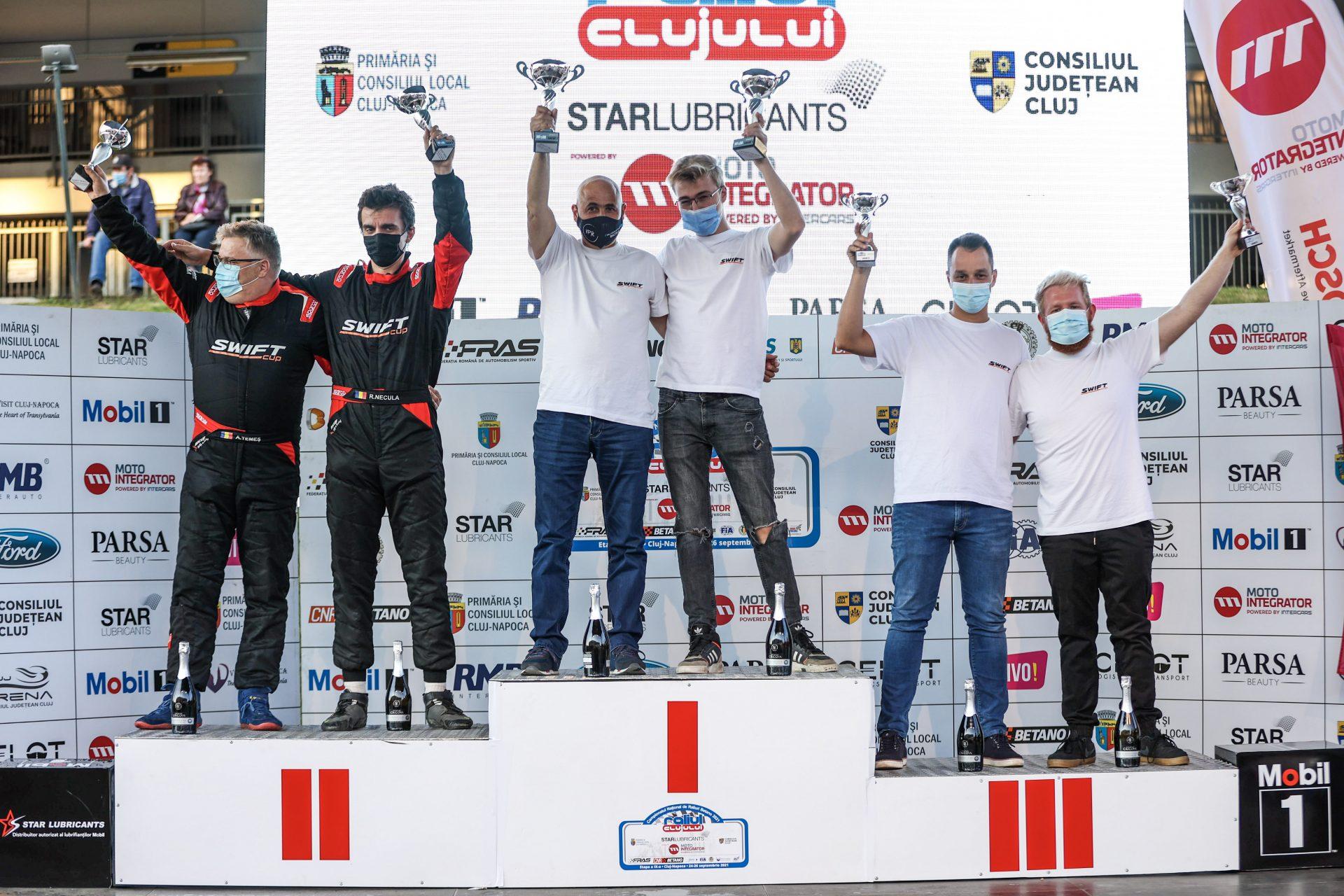 David Tarța și Mihai Sandu câștigă ultima etapă Swift Cup din 2021