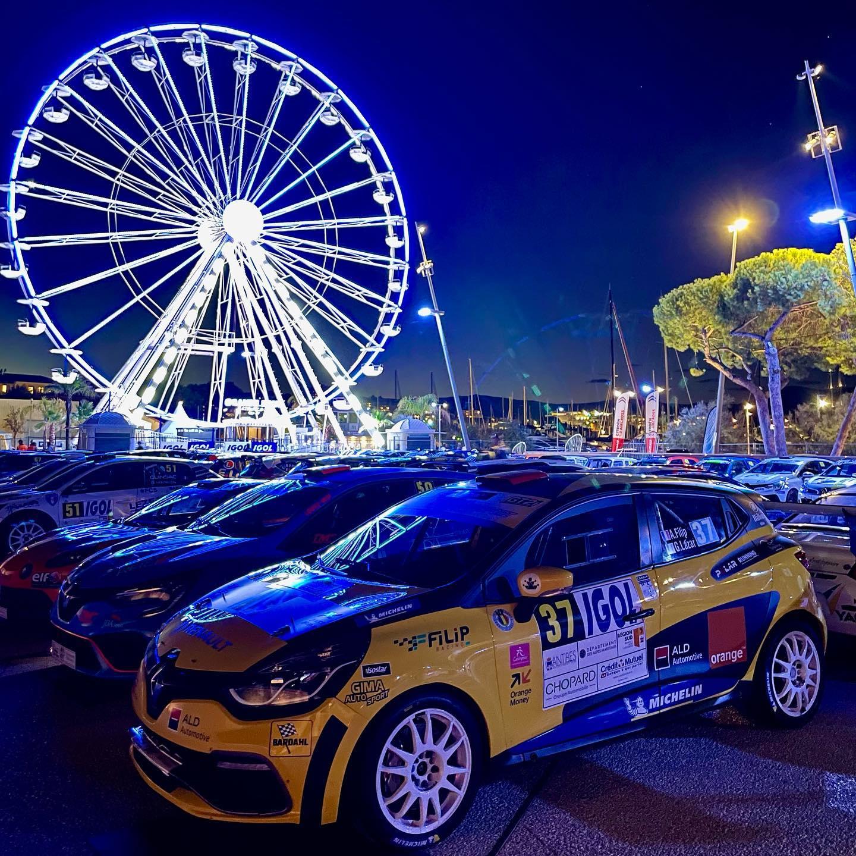 Alex Filip și Gabriel Lazăr încheie prima zi din Rallye d'Antibes – Côte d'Azur