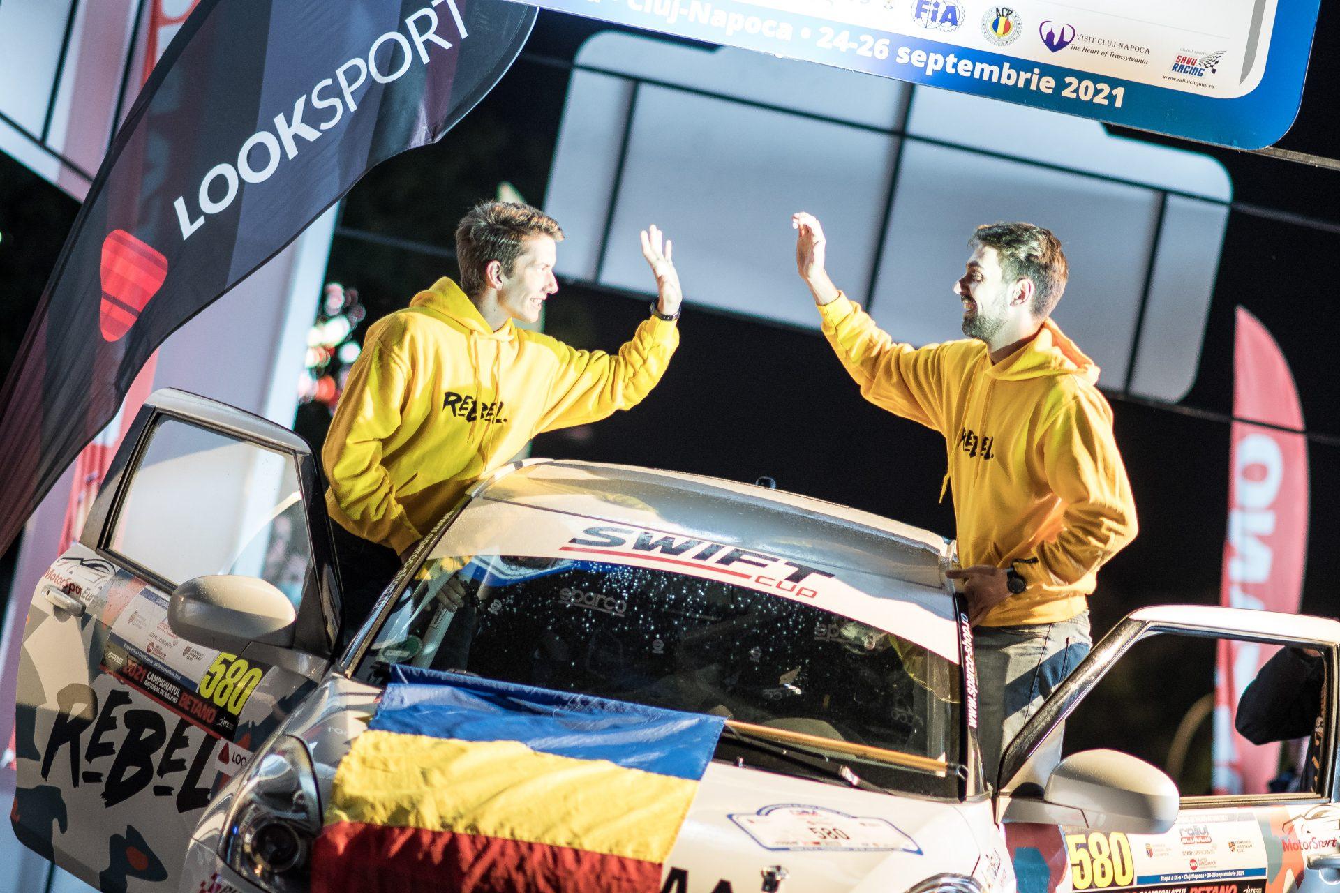 Când visul devine realitate – Radu Lambrino & Andrei Aițculesei la Raliul Clujului