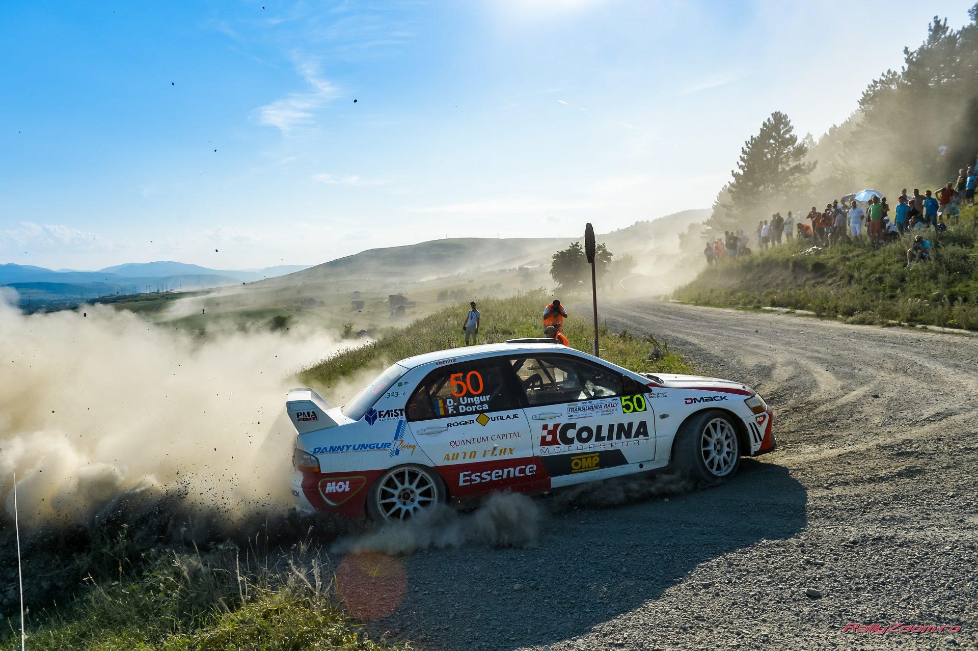 Danny Ungur si Florin Dorca s-au impus în clasa 11 la Transilvania Rally