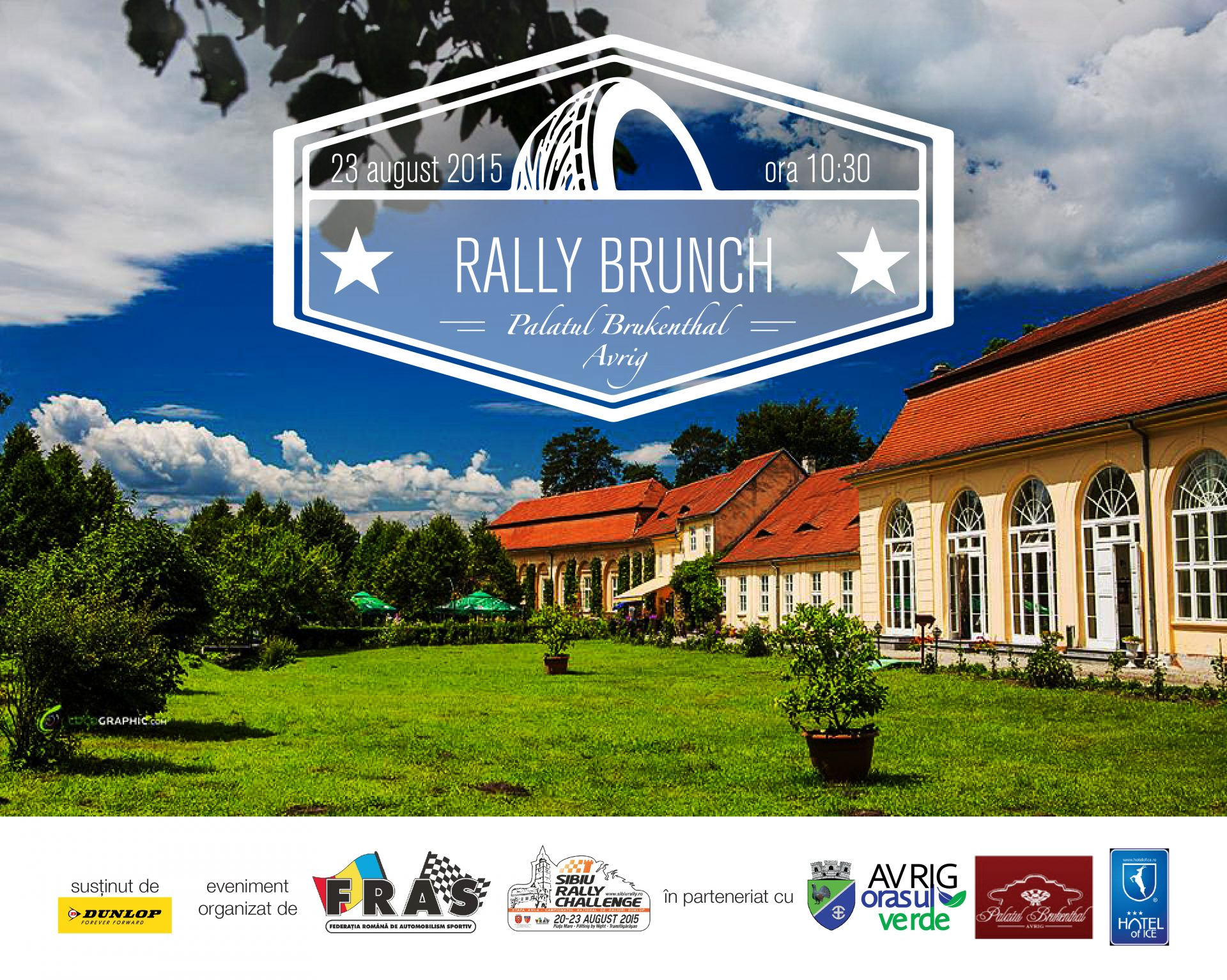 Rally Brunch la Palatul Bruckenthal, Avrig