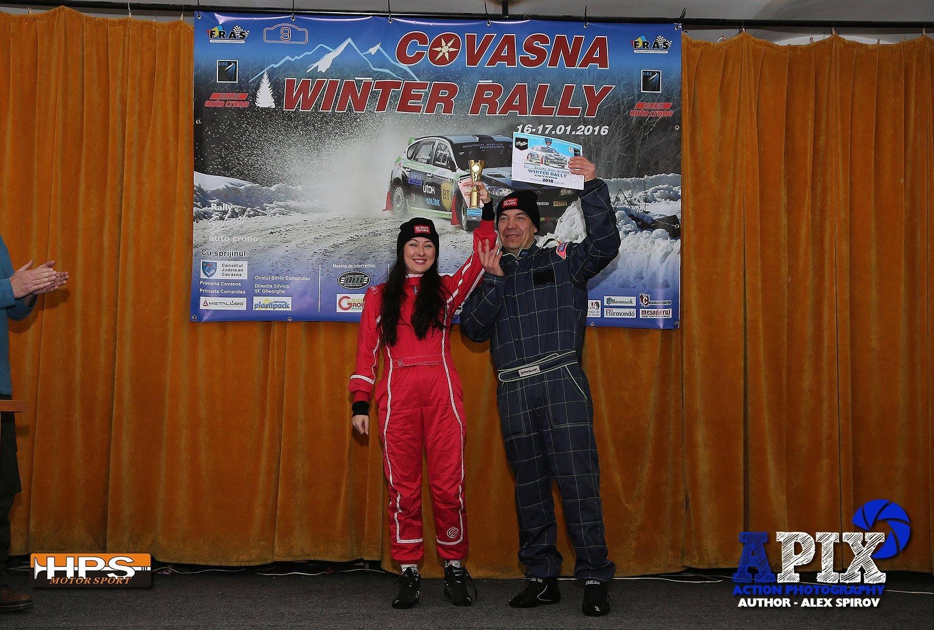 Rally Experience: Primul raliu pentru Ramona Rusu, pe zapada de la Covasna