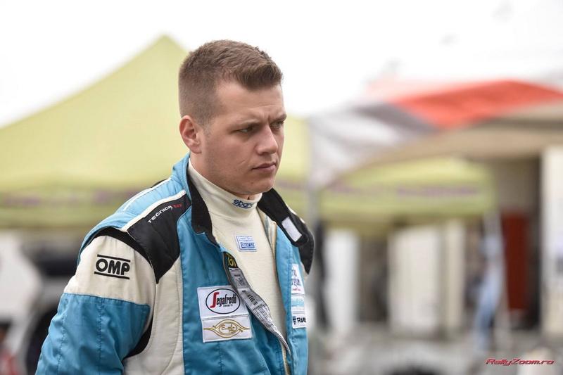 Norbert Abraham debuteaza in calitate de pilot la Trofeul Campulung Muscel