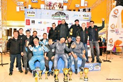 Podium in conditii dificile pentru Omega Rally Team la Tess Rally Brasov