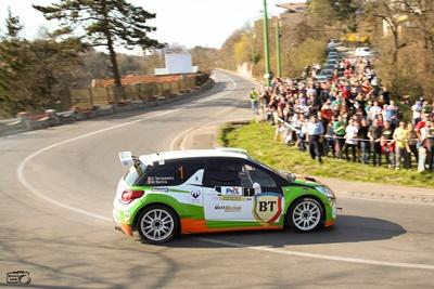Se joaca cu casa inchisa! 90 de echipaje vor lua startul in Tess Rally Brasov 2018