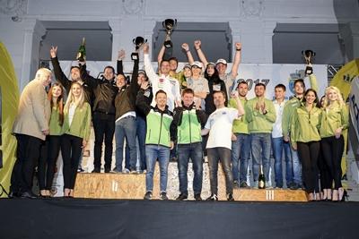 Povestea mai putin cunoscuta a singurei echipe brasovene de raliuri
