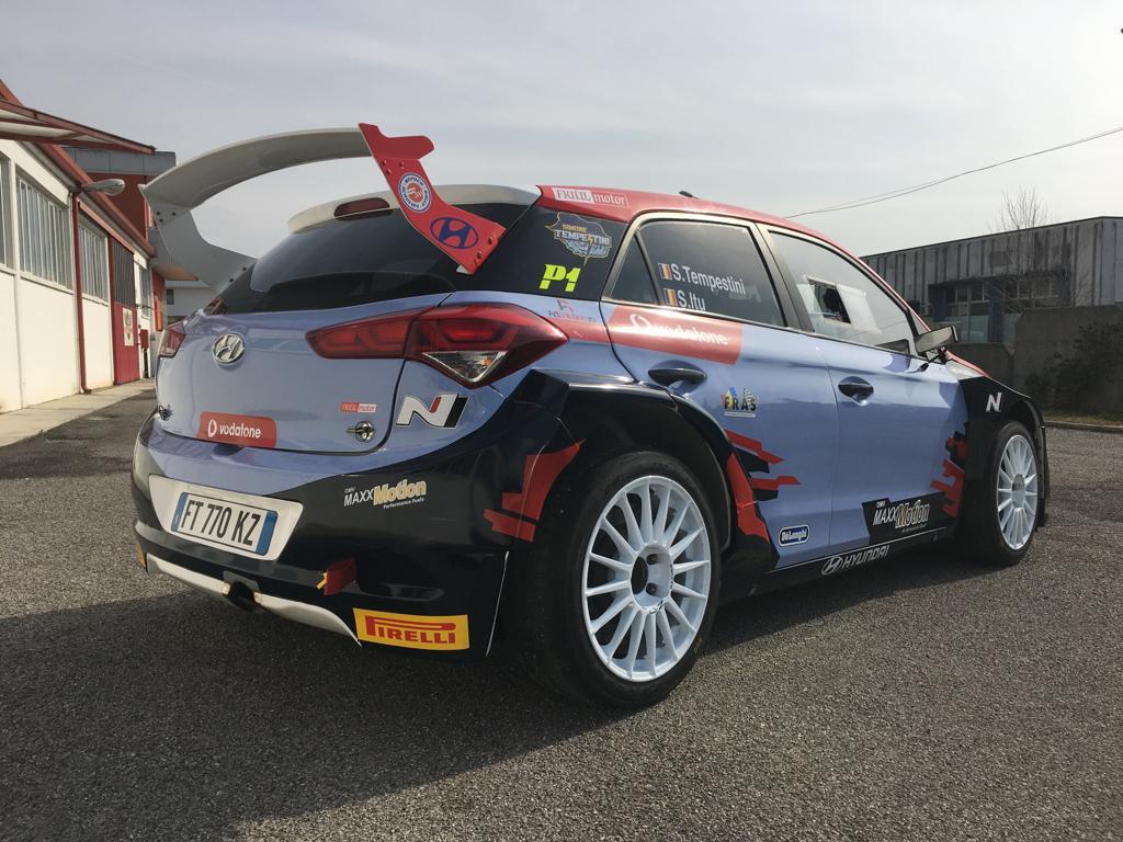 Simone Tempestini si Sergiu Itu debuteaza pe Hyundai i20 R5 la Rally dei Laghi