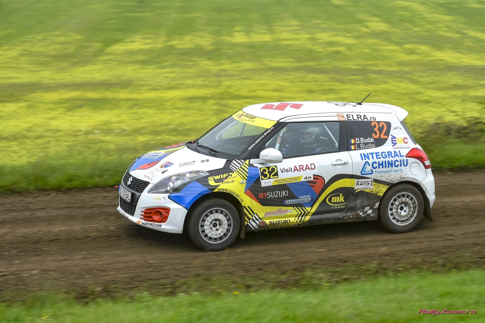 Cupa Suzuki ia startul pe macadamul Raliului Moldovei