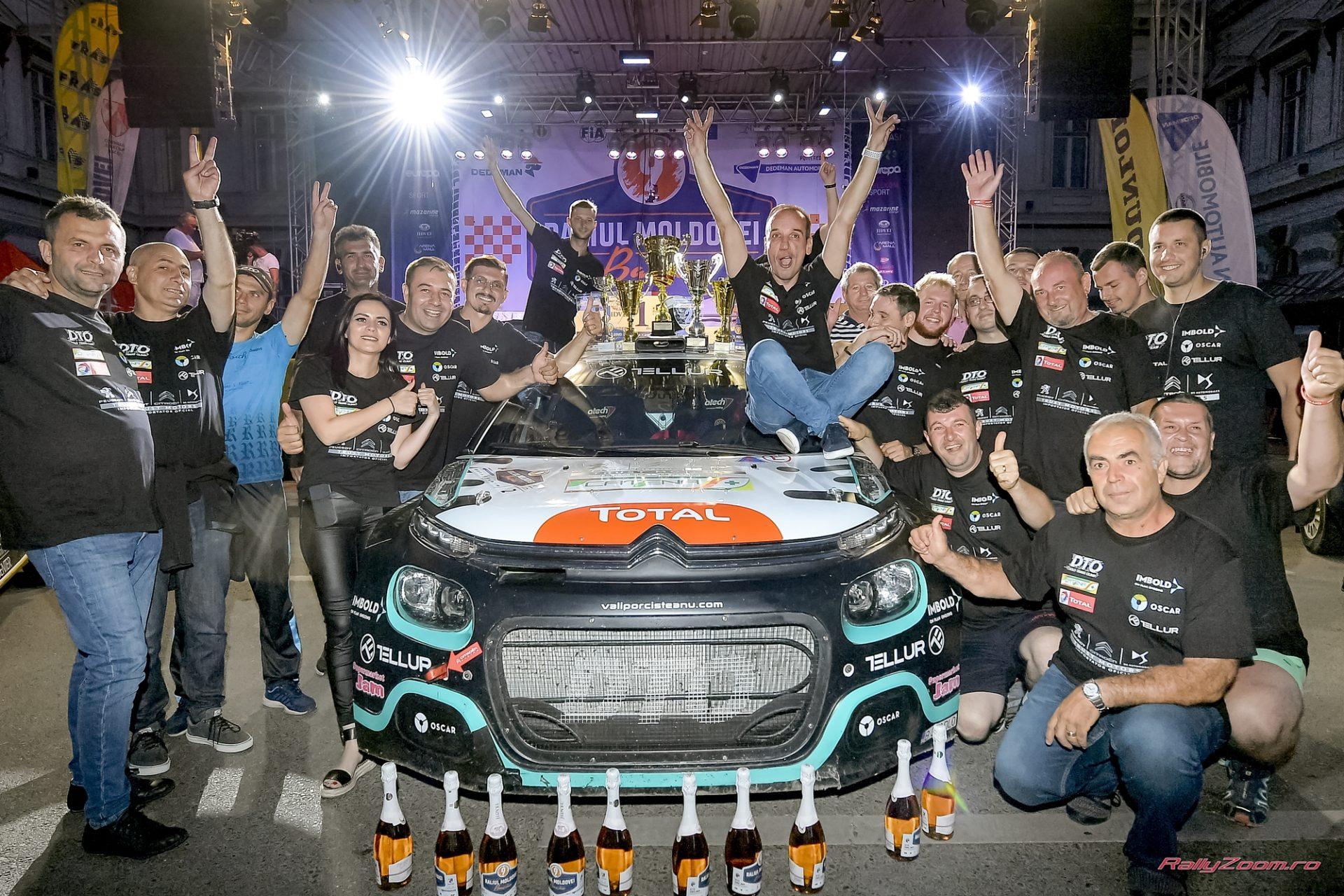 Prima victorie pentru Citroen C3R5 in sezonul 2019