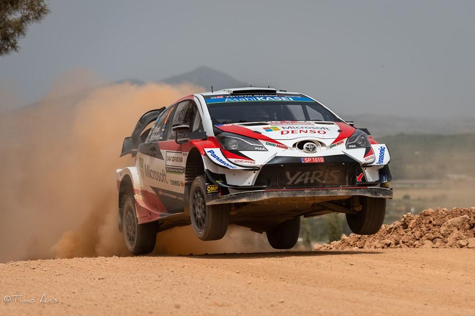 Ott Tanak-noul lider din Sardinia. Simone si Raul pe locurile 4 in WRC2 si JWRC