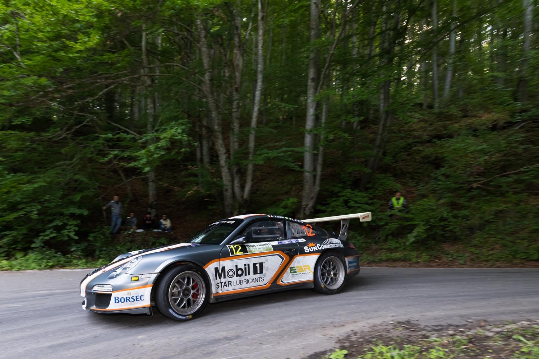 Revenire spectaculoasa pentru Alexandru Pitigoi si Porsche in Campionatul National de Raliuri
