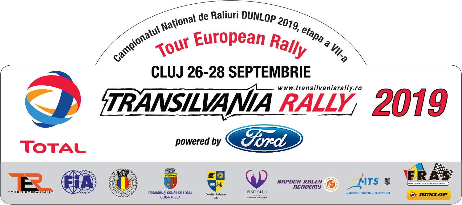 Transilvania Rally 2019 – Documente oficiale