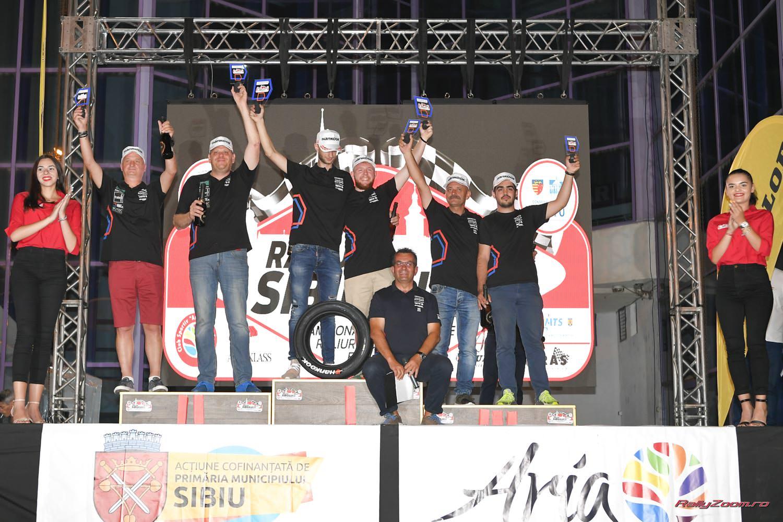Victorie mult asteptata pentru Cristi Sugar/Vlad Colceriu in Cupa DACIA la Raliul Sibiului 2019