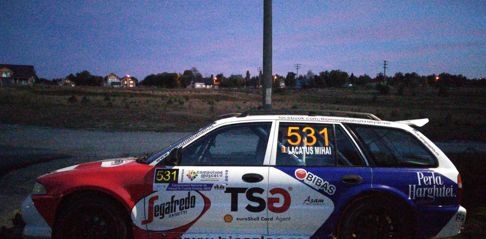 Mihai Lacatus ia startul cu Mitsubishi Lancer Kombi in Trofeul Campulung Muscel