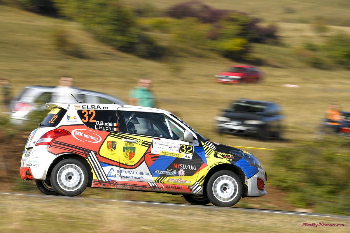 Danut si Lucian Budai, aproape de titlul Cupei Suzuki dupa Transilvania Rally