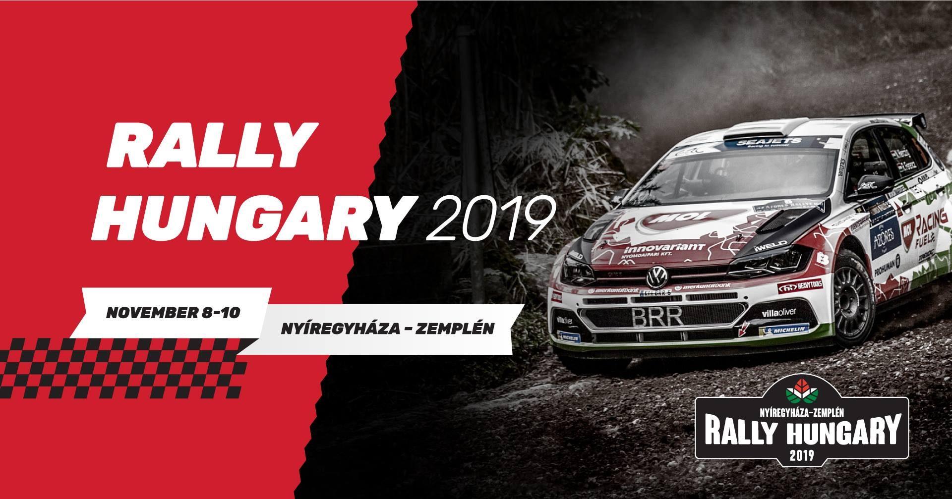 Doua echipaje romanesti la startul Rally Hungary 2019