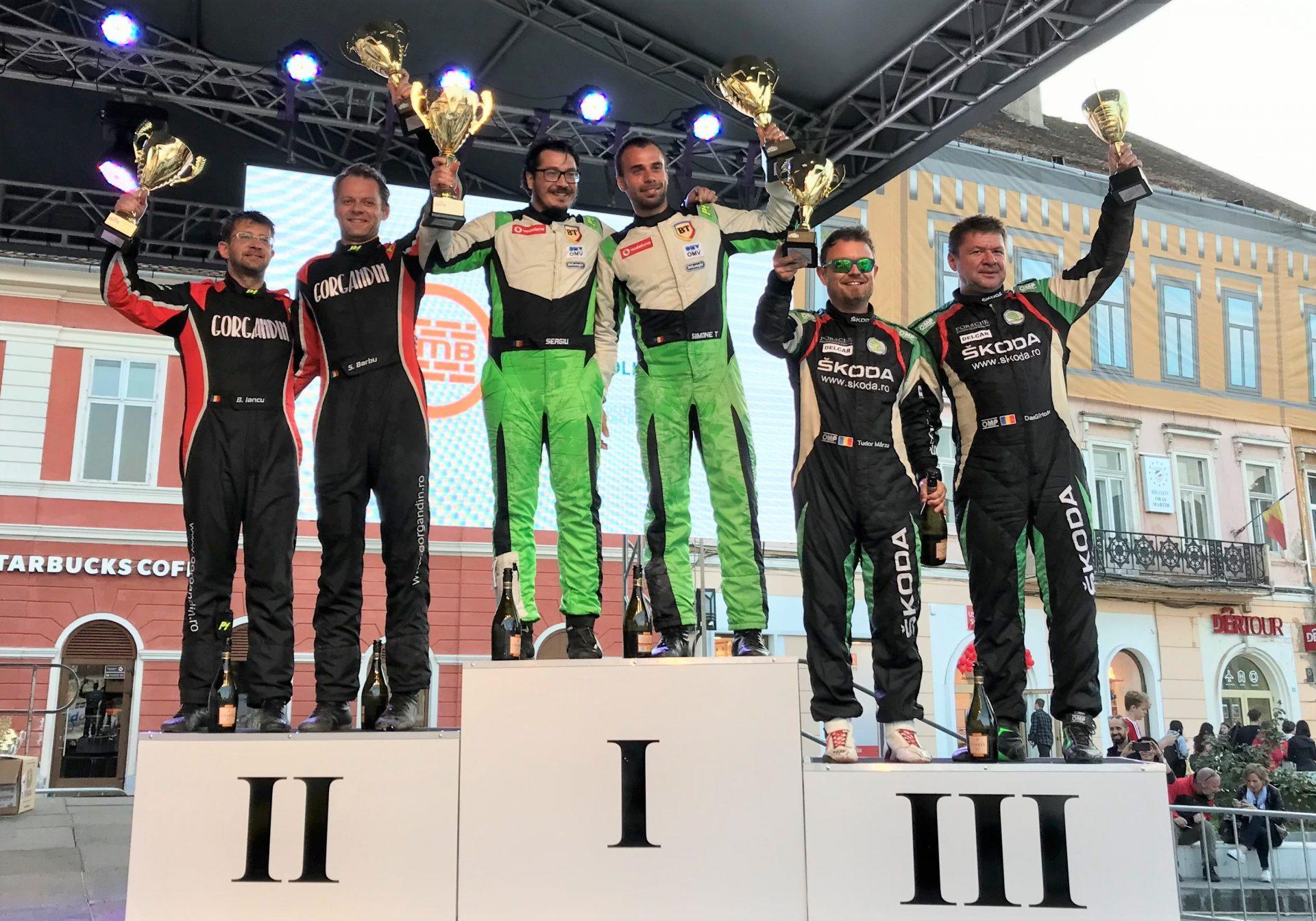 Simone Tempestini a castigat TESS Rally 48 si un nou titlu de campion national absolut