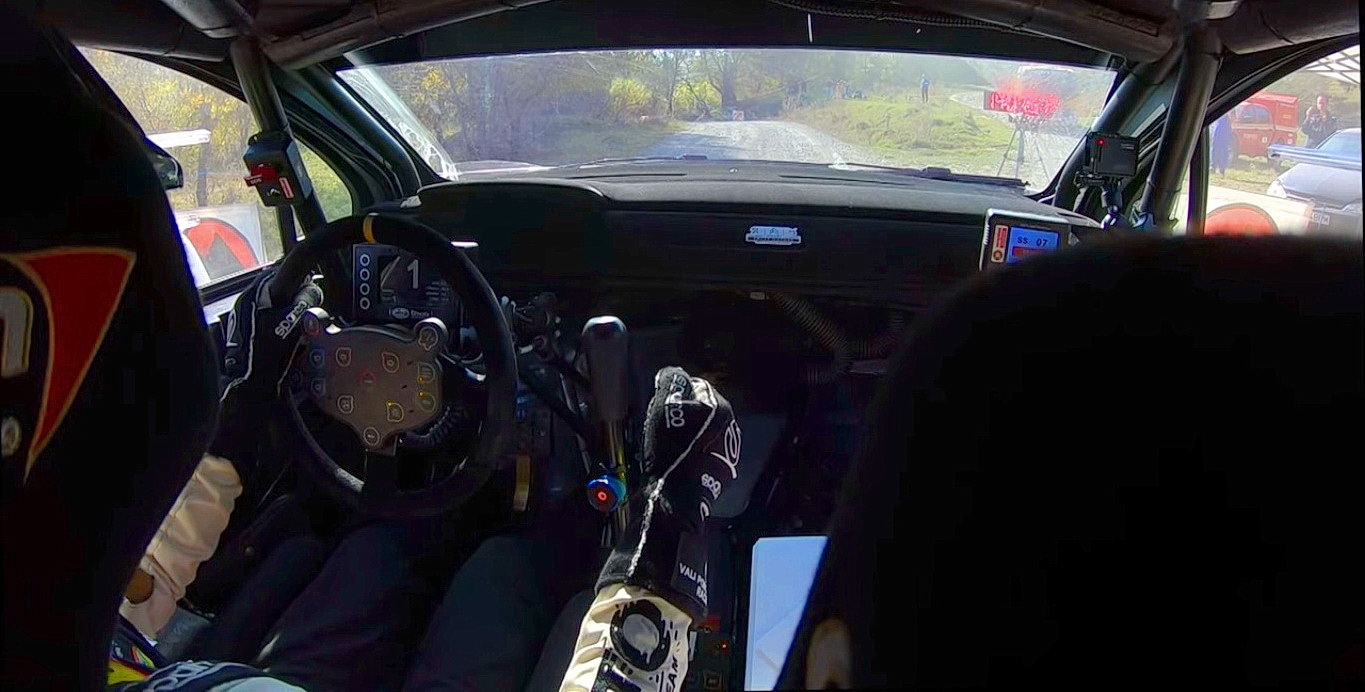 Onboard Action la Tess Rally 2019